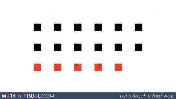Adding Positive and Negative Integers - Video 1 - Positive Plus Negative - Visual 2