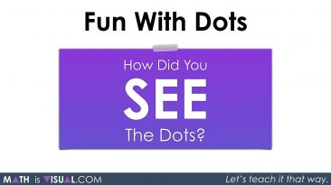Conceptual Subitizing With Dot Cards Part 2 - Visual Prompt 01