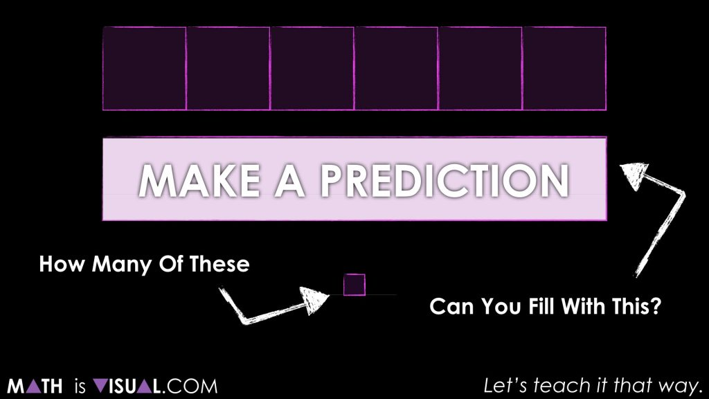How to convert units of measurement visually Task 2 Act 1 Make a Prediction