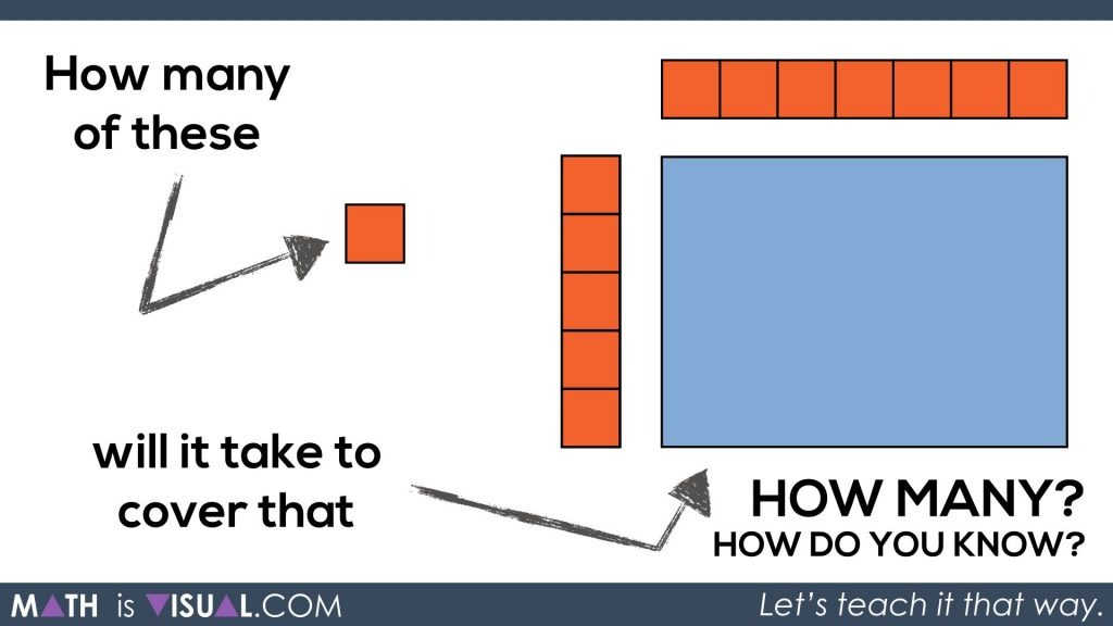 Math Is Visual - Area of a Rectangle Visual Prompts.110 how many and how do you know