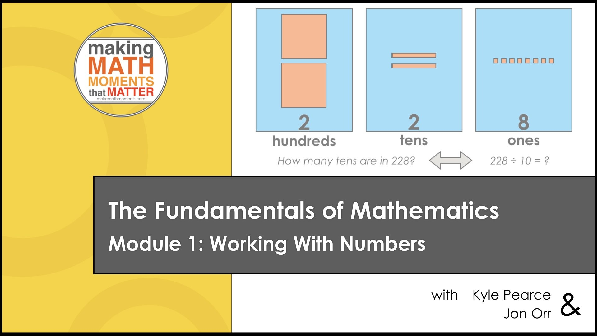 MMM - Mini-Course - The Fundamentals of Mathematics Lesson Featured Images.001